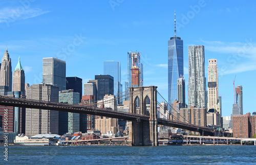 Brooklyn Bridge in New York City Poster