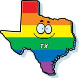 Cartoon Texas Gay Marriage - 176461709