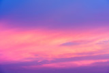 The beauty of colorful clouds in twilight background - 176476506
