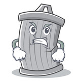 Angry trash character cartoon style - 176479741