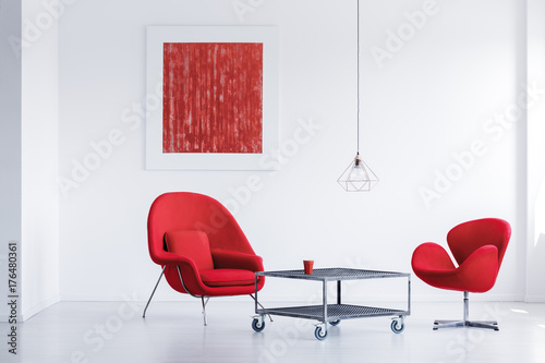Room with two chairs