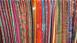 Colorful Sarongs with Assorted Patterns