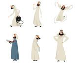 Six arab men - 176517522