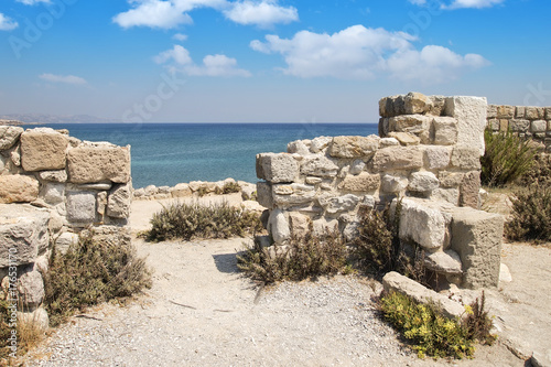 Ruins in Kefalos Kos island greece