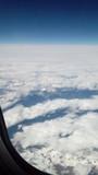Grèce montagnes vue hublot avion