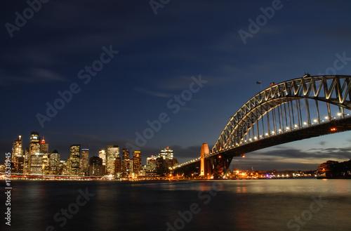 Sydney by night Poster