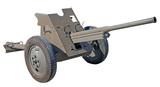 Old Soviet cannon - 176549725