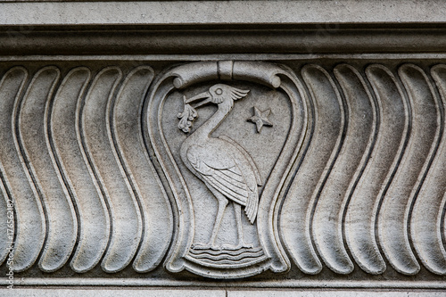 Carved Liver Bird Poster