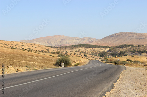 Papiers peints Maroc Straße und Landschaft in Marokko
