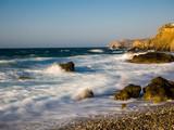 Wellen am Strand - 176599784