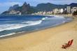 Quadro Brazil Rio de Janeiro copacabana