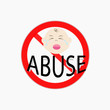 concept of stop child abuse