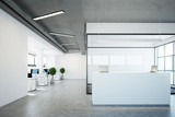 White reception near a conference room - 176605127