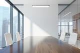 Conference room table close up - 176605135