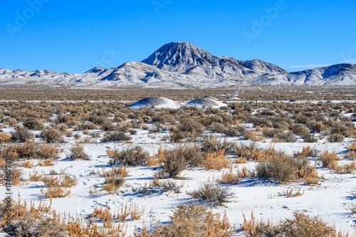 Aluminium Cappuccino Frozen Nevada Landscape