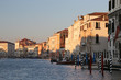 Quadro ancient palace in Grand Canal in Venice