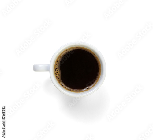 Wall mural Cup of coffee