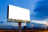 Blank billboard ready for use - 176644173