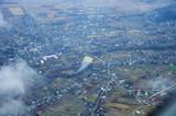 Aerial view of Ukrainian settlement - 176654733