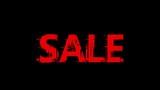 Black Friday sale. Black Friday sale promotion video glitch effect footage - 176659165