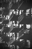 multi-unit building - balconies - 176663322