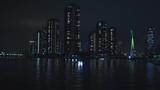 東京の永代橋からの夜景 - 176673312