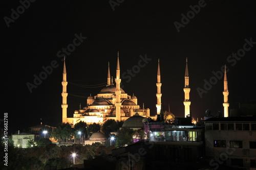 スルタンアフメト・モスク Poster