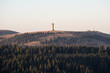 Feldberg 1493 m, highest hill in black forest gemany, view from Herzogenhorn 1415m. - 176685918