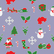 Christmas seamless pattern background - 176698394