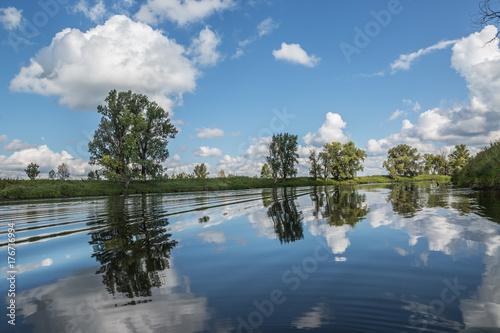 Fotobehang Zomer Summer landscape