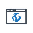 Internet Browsing Icon