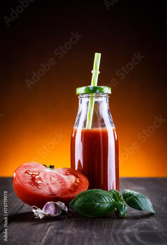 Papiers peints Jus, Sirop Tomato juice