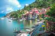 Quadro Varenna, Lake Como, Italy