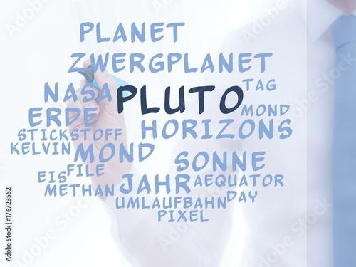 Fotobehang Nasa Pluto