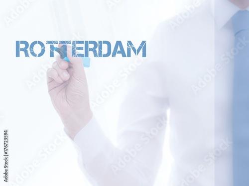 Fotobehang Antwerpen Rotterdam