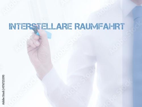 Poster Nasa Interstellare Raumfahrt