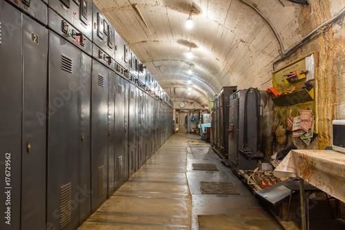 Underground gold ore mine shaft transformer Plakát