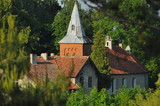 Kościół w małej miejscowości