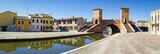 Fototapety Comacchio, Italy. The little Venice of Emilia Romagna