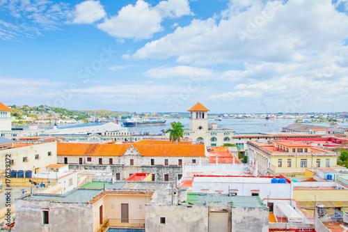 Papiers peints Havana port of havana aerial view