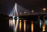 Warszawa - Most Świętokrzyski nocą II