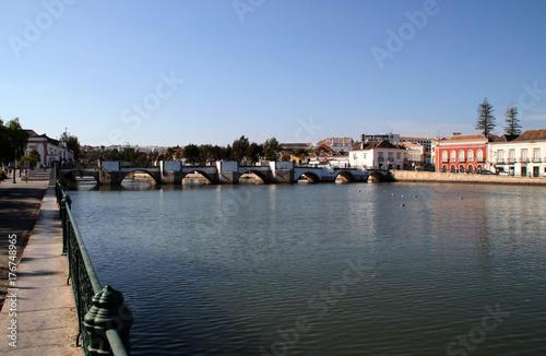 Die Ponte Romana in Tavira Poster