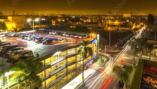 Papiers peints Autoroute nuit Los Angeles Vacation