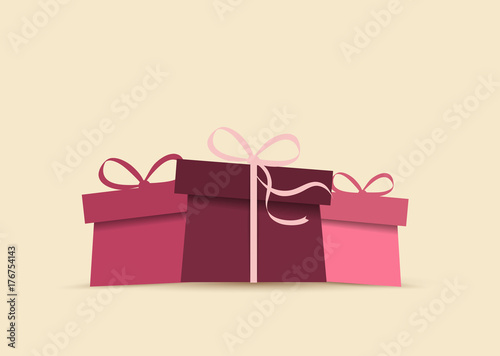 Background with presents - 176754143