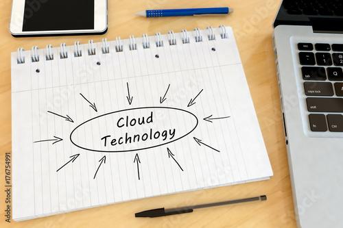 Cloud Technology text concept