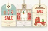 Christmas Sale Tags - 176755186