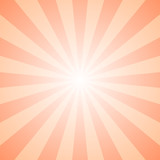 Abstract gradient geometrical ray burst background - retro graphic design with radial lines