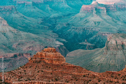 Papiers peints Bleu vert amazing views of grand canyon national park