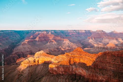 Fotobehang Diepbruine amazing views of grand canyon national park