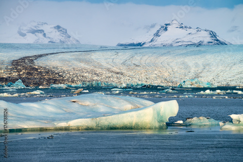 Plakat Iceland Glacial Lagoon 2